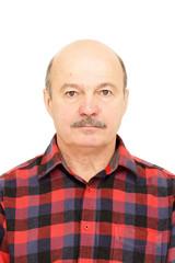 Portrait for passport.