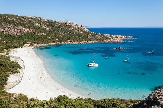 Plage de Roccapina, Corse, France
