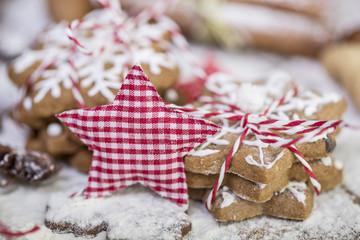 Kekse zu Weihnachten karte
