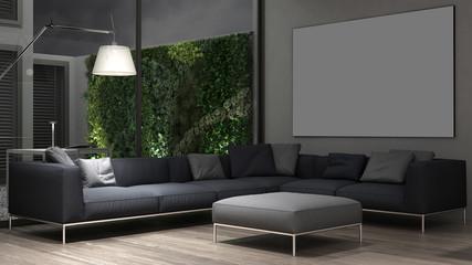 Interior lounge design