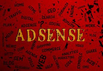 Adsense, Typography, Search