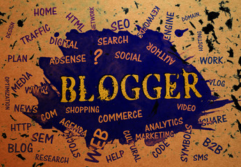 Blogger, Typography, Search