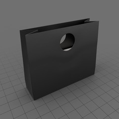 Bag Cutout Handled Square