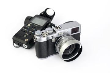 light meter and camera