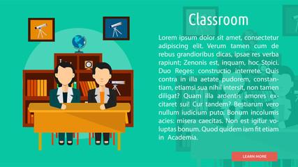 Classroom Conceptual Banner