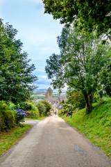 Locronan village in Brittany, Finistere