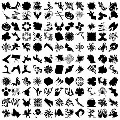 Set of abstract symbols for your design