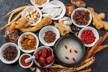 漢方 薬膳 健康食 Chinese medicine and ginseng