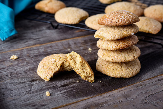 Ginger soft cookies - homemade