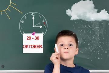 Winterzeit, An welchem Tag muss ich die Uhr umstellen?