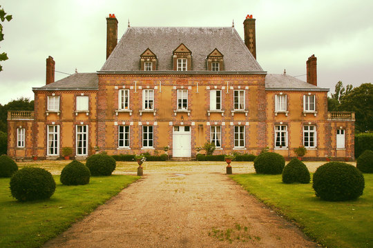 Manor house in Normandy, Rouen, France