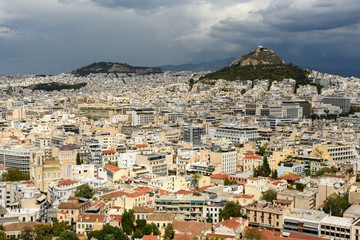 Athens cityscape, Greece.