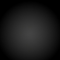 Vector black abstract background. Hexagon pattern, Realistic illustration