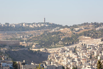 Mount of Olives the view from afar