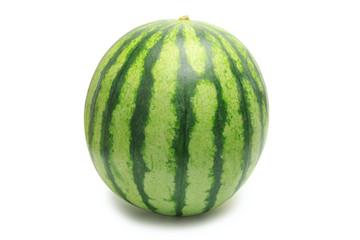 Small striped watermelon
