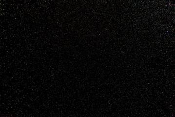 Night stars in the black sky