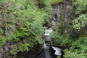 Upper stretch of Corrieshalloch Gorge