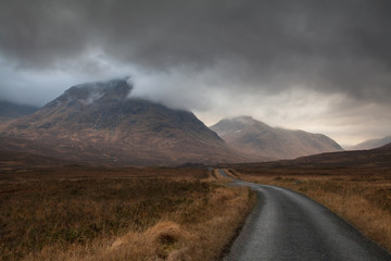 Moody Glencoe in Autumn