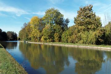 Canal du Loing, parc régional naturel du Gâtinais