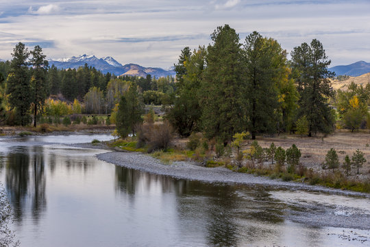 Methow River near Winthrop, Washington.