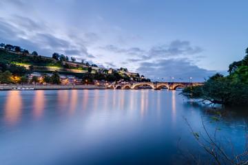 Jambes Bridge in Namur, Belgium