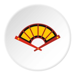 Fan icon. Flat illustration of fan vector icon for web