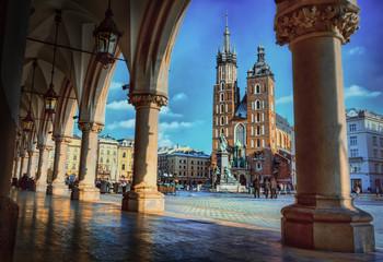 Cracow / Krakow in Poland , Europe