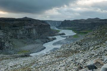 Jokulsa a Fjollum river, Northern Iceland
