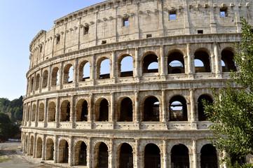 Roman Colosseum Amphitheatre in Rome