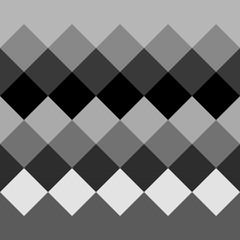 Monochrome grayscale geometric pattern, background. Seamlessly r
