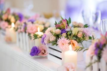 organization of the wedding celebration