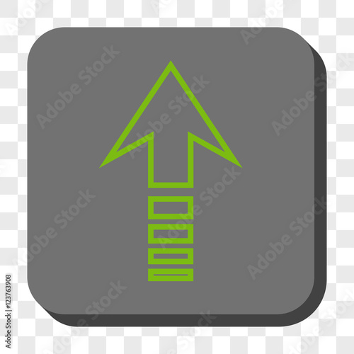 Send Up Square Icon Vector Pictogram Style Is A Flat Symbol In A