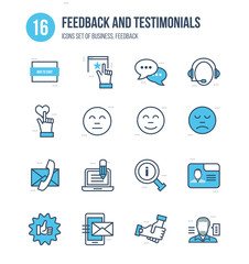 Concept of business, feedback and testimonials, vote, reviews, quotations, liked.