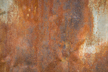 Old metal iron rust texture. Suitable for background,backdrop,wa Wall mural