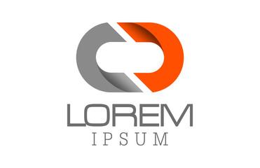 letter CD logo