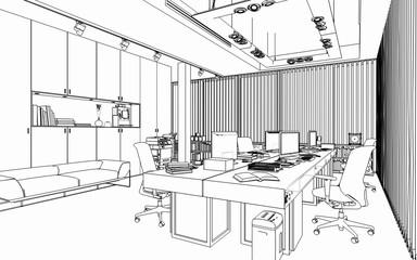 Penthouse Office Unit (scetch)