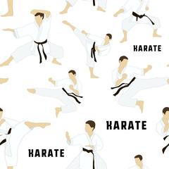Karate set pattern
