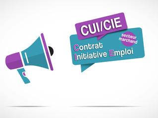 mégaphone : CUI / CIE