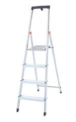 Aluminum metal step-ladder