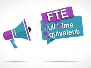 megaphone : FTE