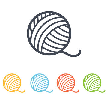 ball of yarn icon