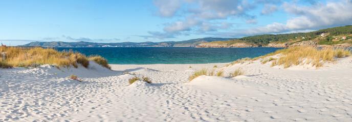 Strandaufgang Praia de Laxe (Playa De Laxe) Spanien Galicien Costa da Morte