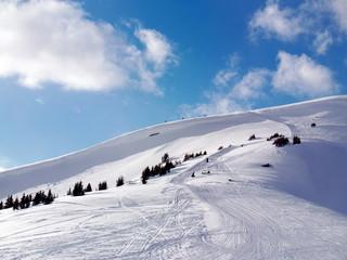 Colorado in the winter