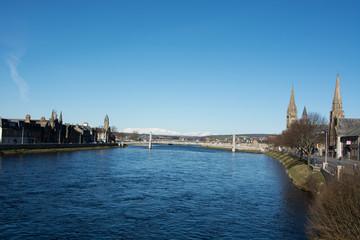 River Ness with Bridges