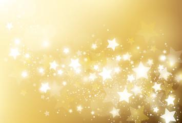 ゴールド 星 背景
