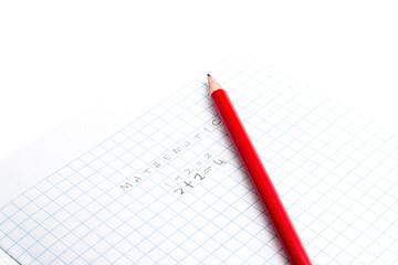 Mathematics with pencil