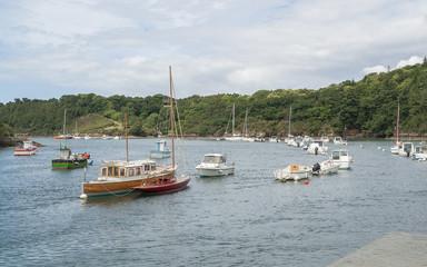 Belon River in Brittany