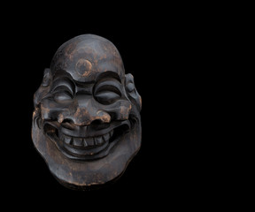 fat man mask smiling 2