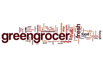 Greengrocer word cloud