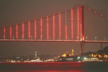 Bosphorus Bridge of İstanbul